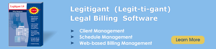 attorney software, legal software, law office software, software for lawyers, law practice management software
